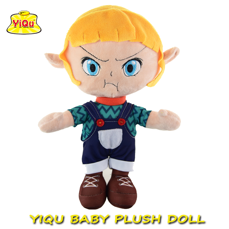 OEM Soft plush doll Customized stuffed cloth doll toy custom doll for kids