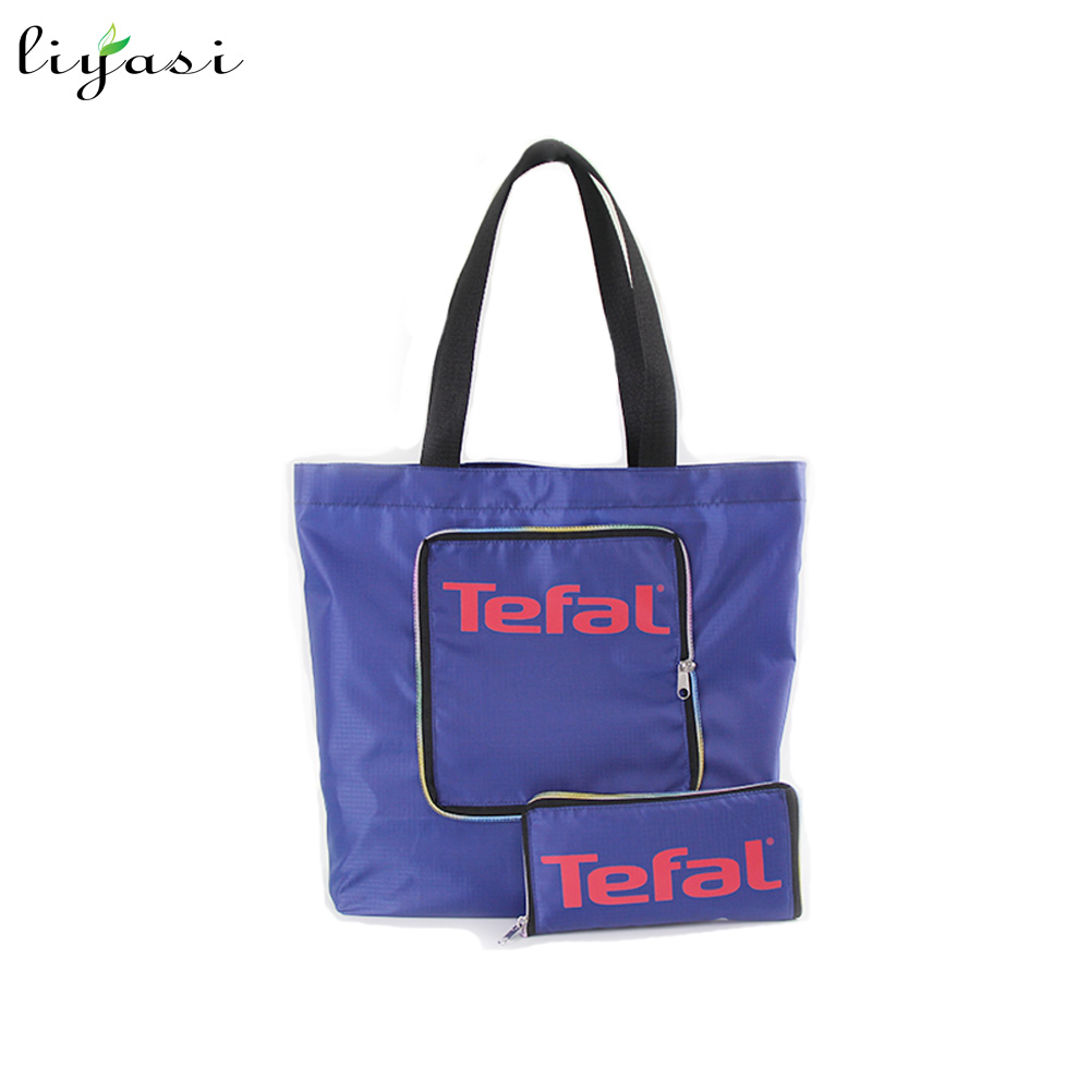 Polyester Tote Style Foldable Shopping Bag