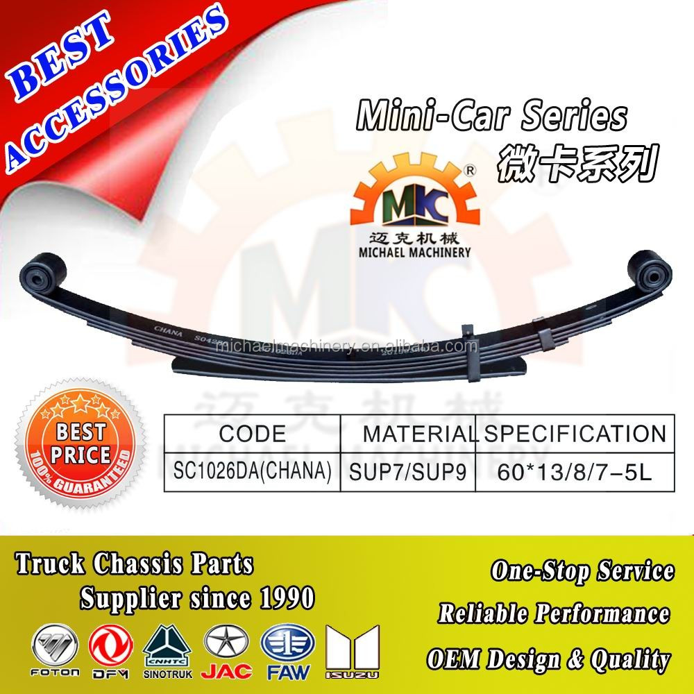 Different Types of Hyundai Truck Small Leaf Springs