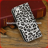 good quality factory price leather Wallet flip case for iphone 5c