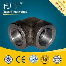 ASTM A105 forged pipe fittings forged pipe fittings elbow 90 bend pipe