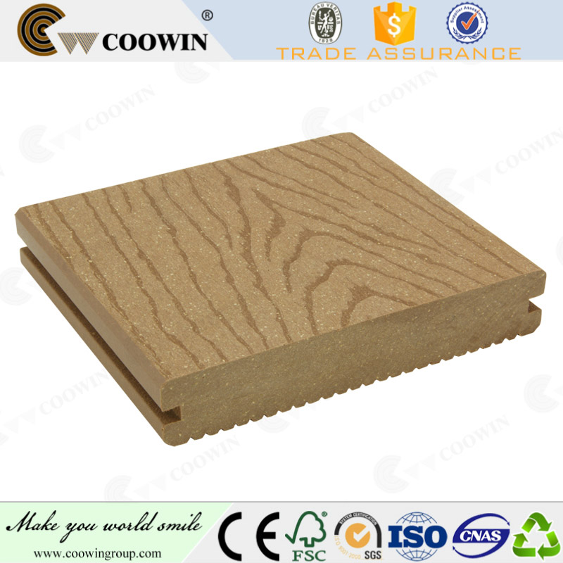 Fashionable and green floor of composite decking strips