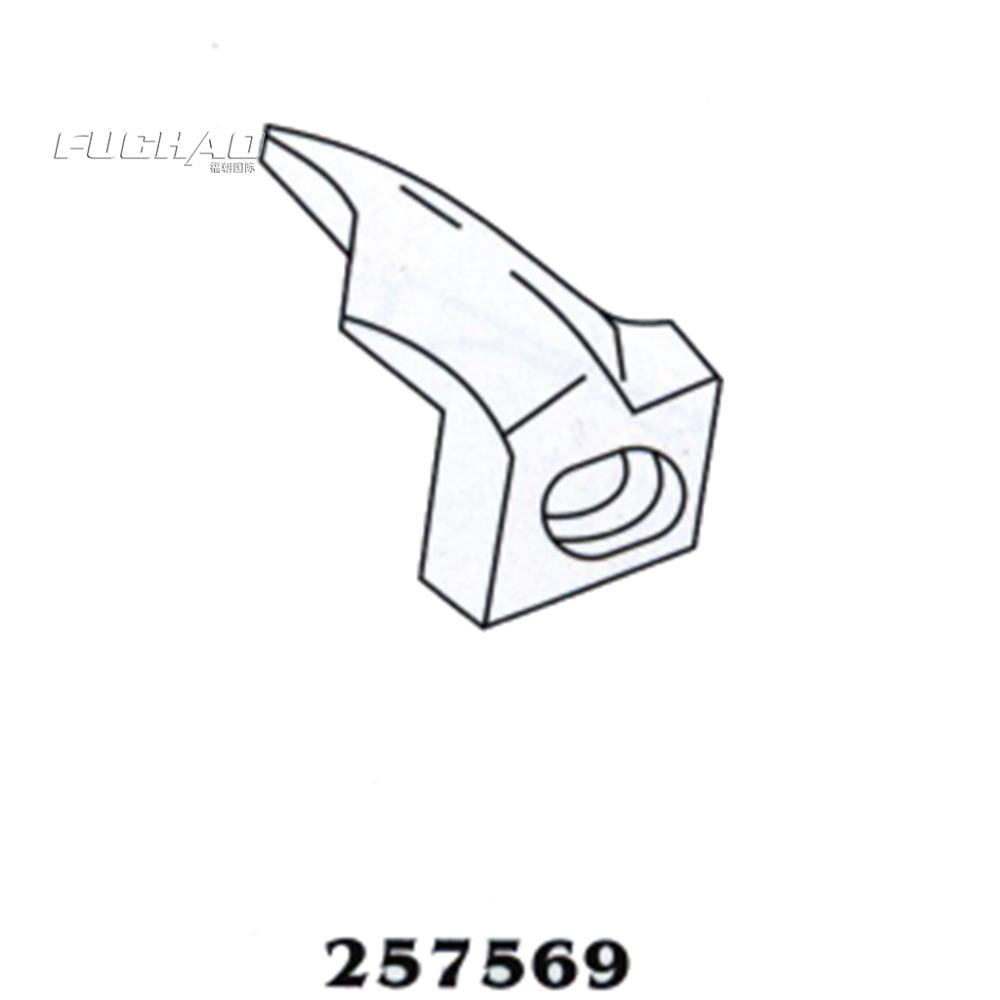 257569 fabric guide Suitable for Pegasus w600 Curved needle bending of needle industrial sewing machine spares parts