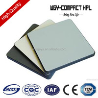 Customized hpl phenolic resin compact laminate board