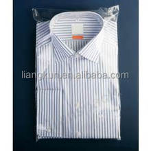 Sealable plastic bags for clothing
