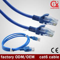 New Style Good Quality Indoor CCA/CU 4Pair UTP D-link Lan Cable Cat6