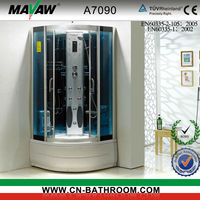 Enclosed Computerized Steam Shower Room Shower Box A7090 A7100 A7011