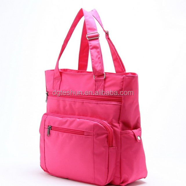 China Alibaba trade assurance supplier custom 600 denier polyester handbag tote bag