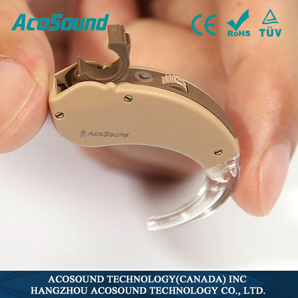 AcoMate 410BTE China hearing aids Digital and Programmable FDA hearing aids