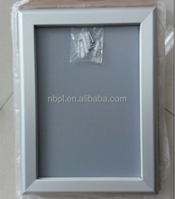 custom advertising aluminum snap frame 32mm snap poster frame