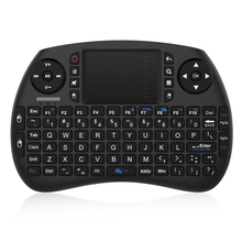 2.4GHz Wireless Mini Keyboard Touchpad Mouse British Layout Keyboard Work with Raspberry Pi Android Box Google Box PC Smart TV R