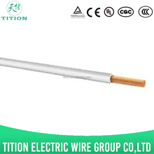 QB-A 1.5mm china standards thin wall low voltage copper wire cables