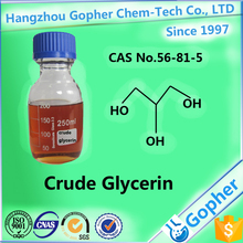 Crude Glycerin 80% for cement grinding CAS No.56-81-5 made in China