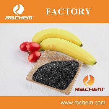 RBCHEM POTASSIUM HUMATE HA65% K2010% FA15% 100% WATER SOLUBLE HUMIC ACID FOR HUMAN CONSUMPTION HUMIC ACID AND FULVIC ACID