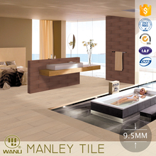 New design wood grain bathroom floor tiles good quality