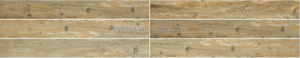 wood look design ceramic floor tile 150x600