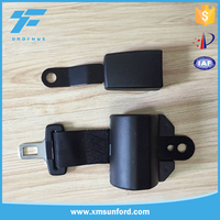Apply to many kinds of car 1.2 meter 2 point seat belt