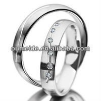 925 sterling silver jewelry set wholesale fashion curved wedding bands for couple