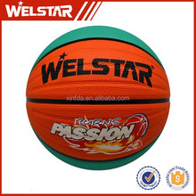 Custom colorful rubber basketball ball/ promotional rubber toys/ logo basketball
