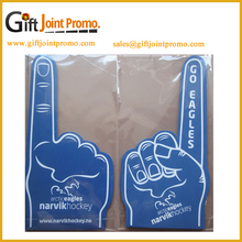 Custom LOGO NO. 1 Cheering Finger EVA Foam Hand