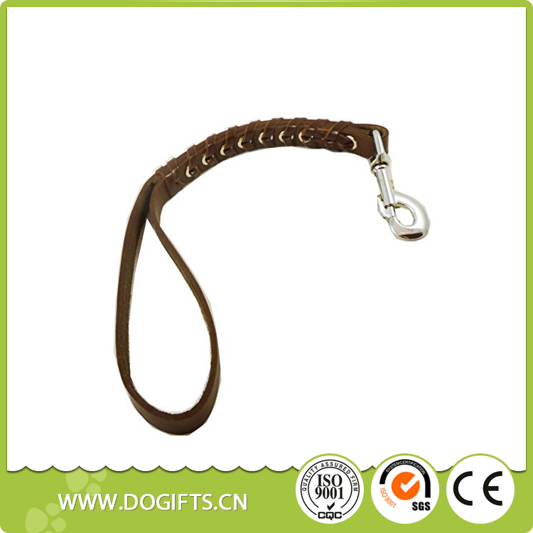 New Innovative Products Personal Top Dog Collar Leather Pet Collar Dog Traffic Leash Dog Leashes and Collars Dogift0732