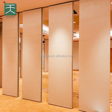 Restaurant movable partiton wall partition materials with soundproofing decoration