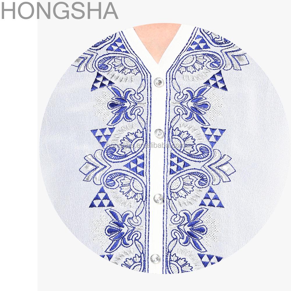 Ladies Kurta Embroidery Designs Pakistani Style Women Long