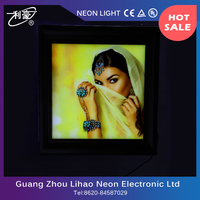 High quality slim wall mount light box led sign of factory price