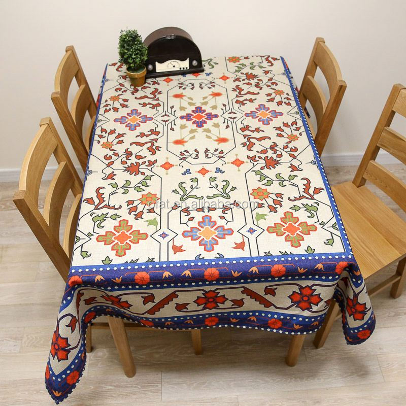 plastic round flannel backed vinyl tablecloth