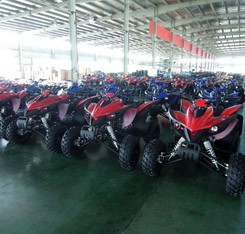 Top Performance Raptor ATV 250cc