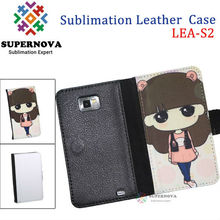 Sublimation Mobile Phone Leather Case for Samsung Galaxy S2 i9100