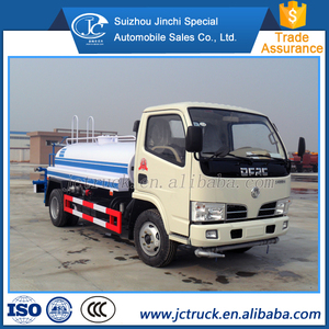 Manual transmission type and Diesel engine 5 ton water tank truck price