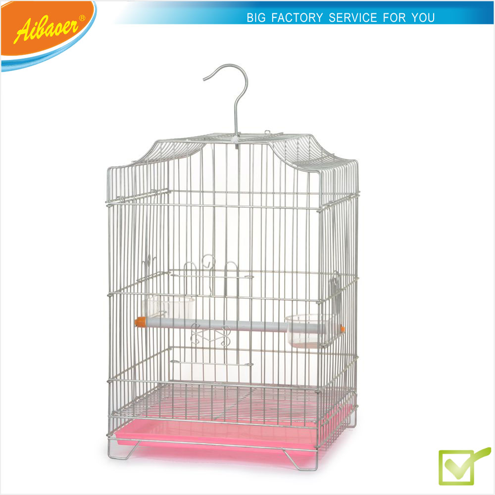 Antique hanging bird cages 32.5X31X45.5cm