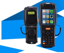Rugged Industrial Handheld data capture terminal PDA with barcode scanner and RFID reader Android 4.2 OS