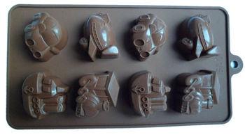 2015 New Arrival 100% Food Grade Silicone Chocolate Mould