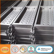 perforated steel plank steel galvanized platform plank with hook