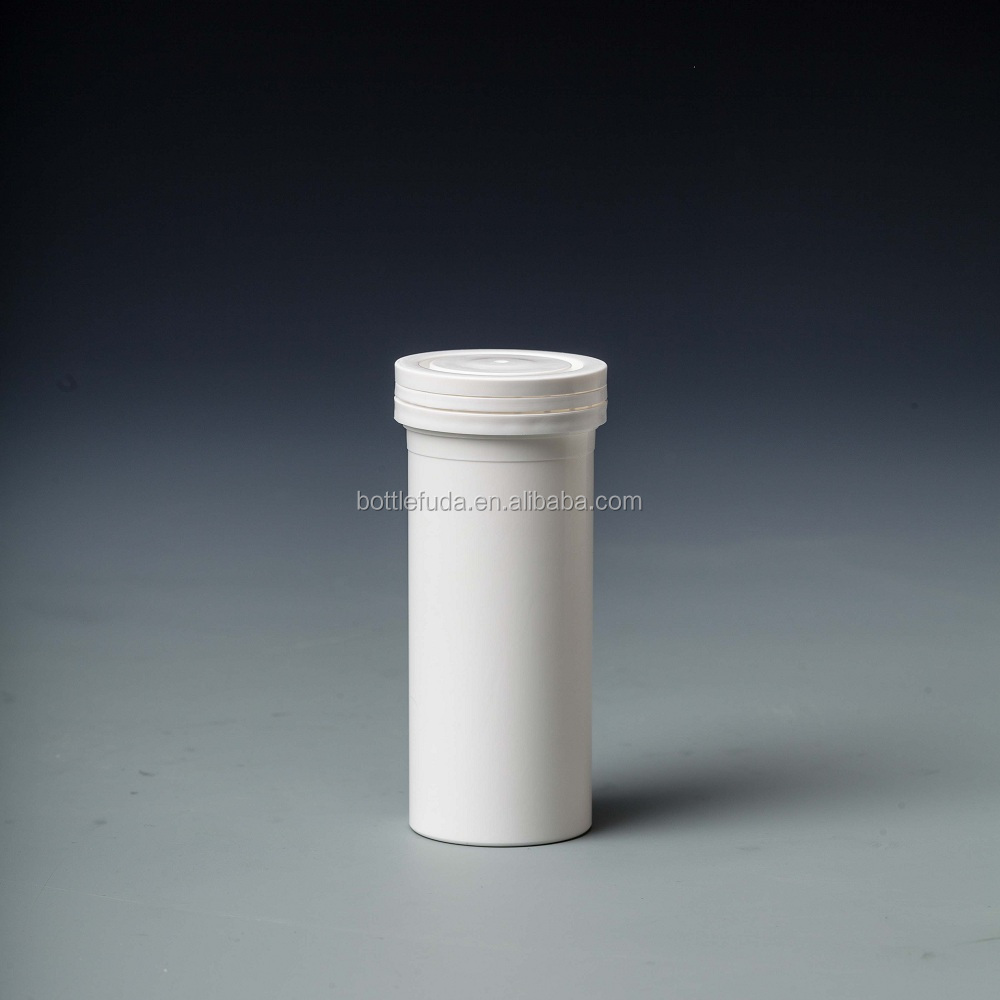 99mm effervescent tablet <strong>tube</strong> with dessicant cap