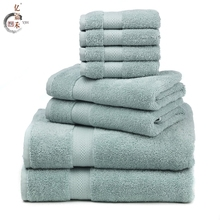 Popular wholesale high quality luxury thickening 100% cotton australia dri soft bath towel specification