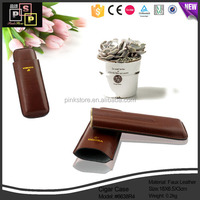 Dongguan Brown cigars leather cigarette pack holders