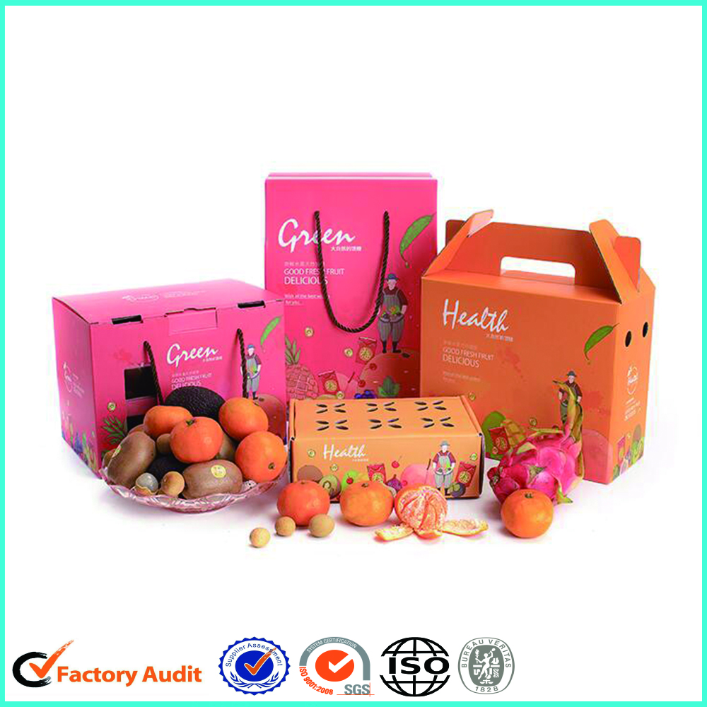 Wholesale Fruit Carton Packing Packaging Box For Dragon Fruit