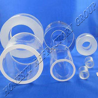 Honesty ROHS Certification Clear Quartz Tube