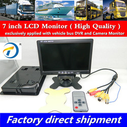 Manufacturer direct sales HD Car Video Display LCD Monitor 7 inch