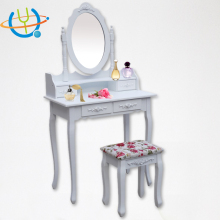 Factory Price Simple Design Dressing Table With Mirror