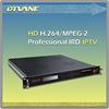 DMB-9020C Professional Receiver(with CI) and mpeg4 hd digital tv decoder with ASI /Video interfaces