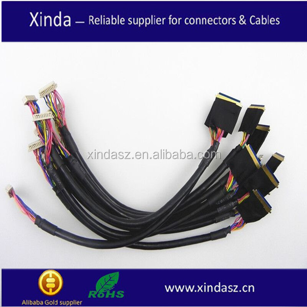 Hot sale DF9-31 LVDS cable for CAR navigation