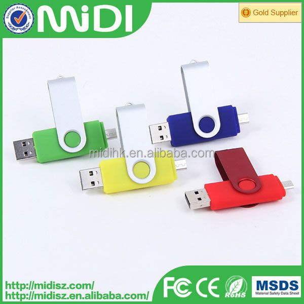 portable usb flash drivers mobile phone Flash drives, hot selling usb Flash drive