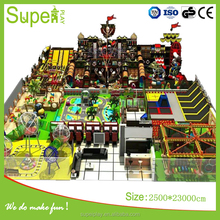 Kids indoor large commercial playground equipment for super mall