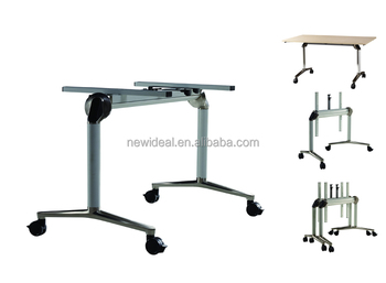 foldable office table legs parts (NH5203)