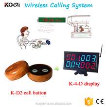 coaster pager electronic pager system customer calling system restaurant equipent 433mhz wireless vibrating pager