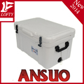 Ansuo LLDPE fishing camping hunting cooler ice box with handle 75L
